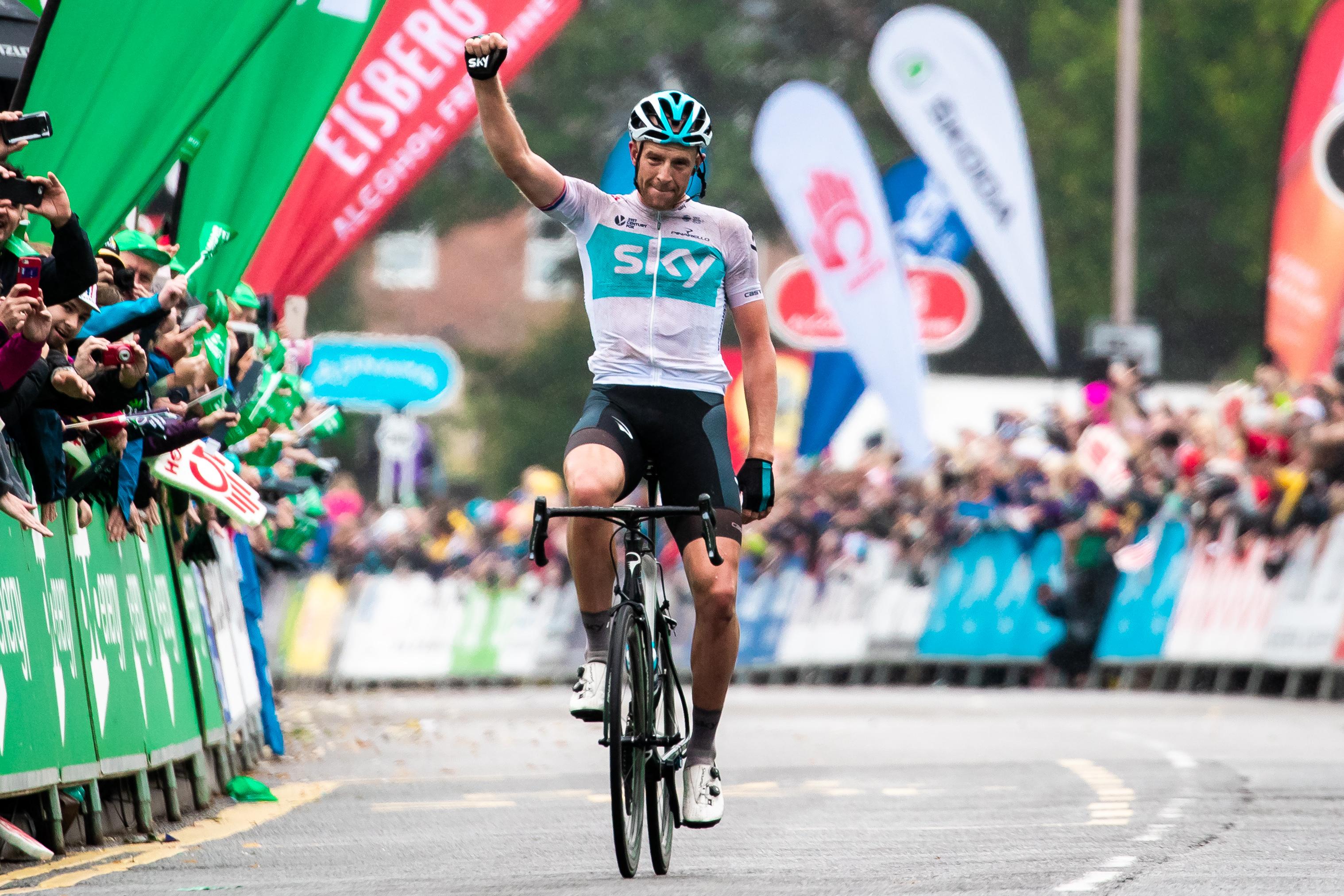 TOB Mansfield winner, Ian Stannard
