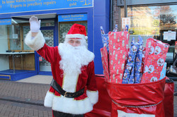 Santa at the Big Switch On 2018