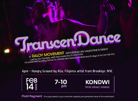 TRANSCENDANCE: A 3-hour interactive performance on Valentine's Day