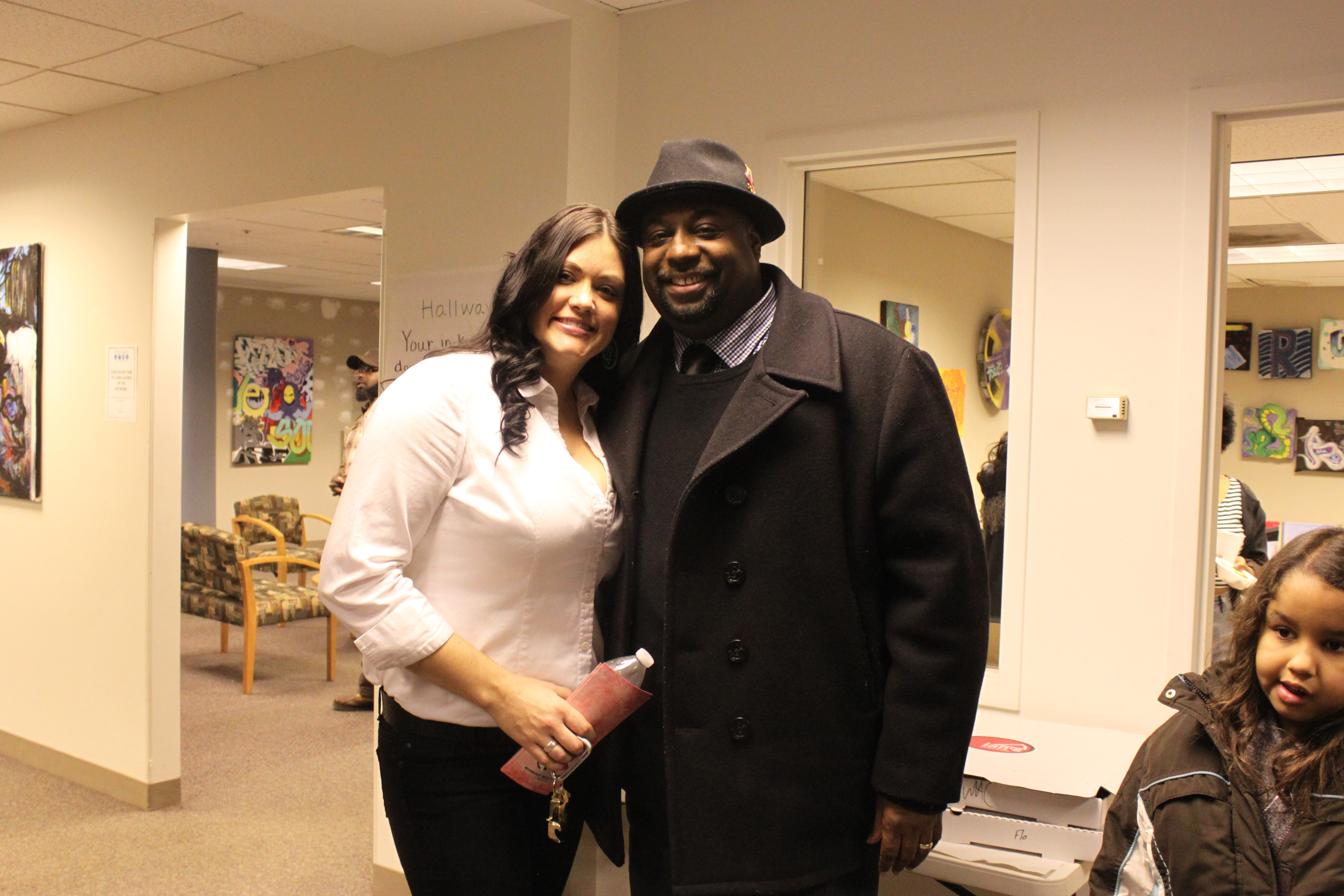 Sarah & Judge Derek Mosley