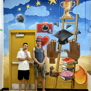 Mural Fun for everyone! Another One!