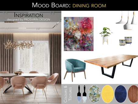 Mood board: Why designers love them!