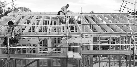 Samurai Builders   Residential New Build, Framing Progress