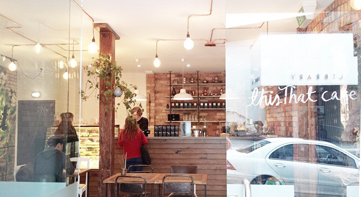 commercial shop fitting | this that cafe