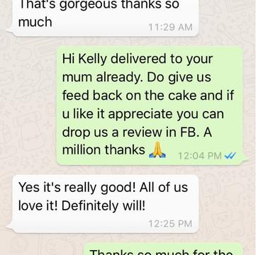 "Kelly Pok ""It is really good. All of us love it!"""