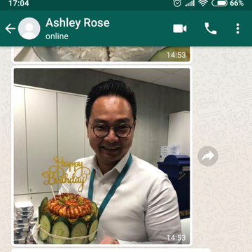 """Ashely Rose """"Sambal was awesome"""""""