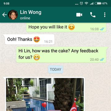 """Lin Wong """"It was a conversation piece with my guests"""""""
