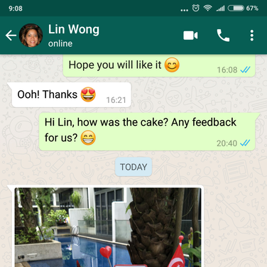 "Lin Wong ""It was a conversation piece with my guests"""