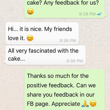 """Jasmine Soh """"Fascinated with the cake"""""""