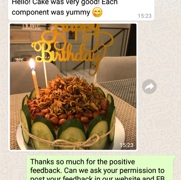 """Michelle """"Each component was yummy"""""""