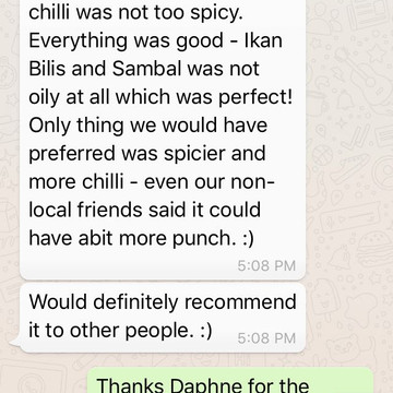 """Daphne """"Everything was good"""""""