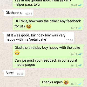 """Trixie Ong """"Birthday boy was very happy"""""""