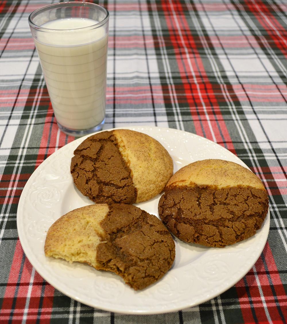 Spiced Jumbo Gingerdoodle Cookies