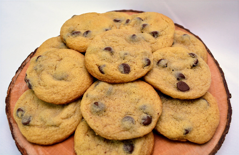 Thick & Tender Chocolate Chip Cookies