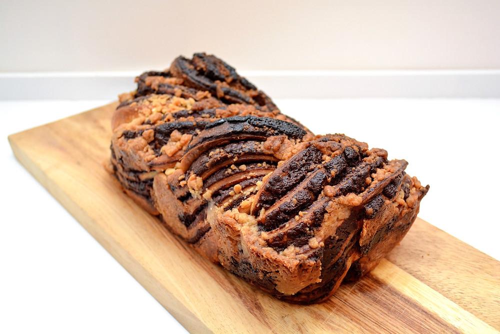 Jewish Chocolate Babka Sweet Bread