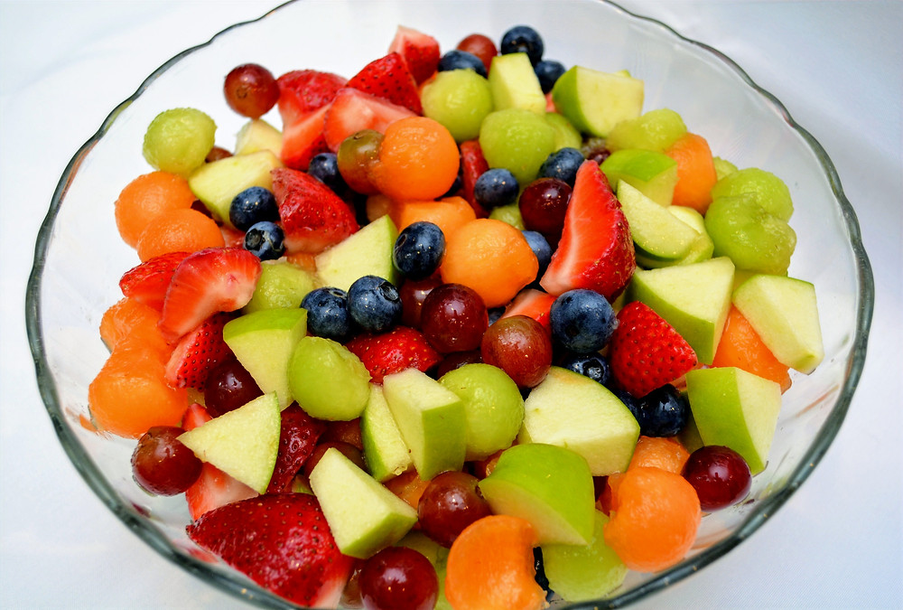 Sweet and Tangy Fruit Salad with Honey Lime Dressing