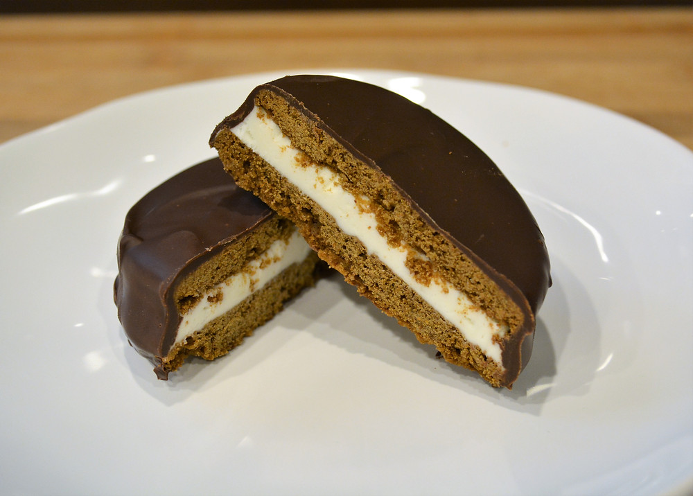 Homemade Moon Pies with Graham Cracker Cookies