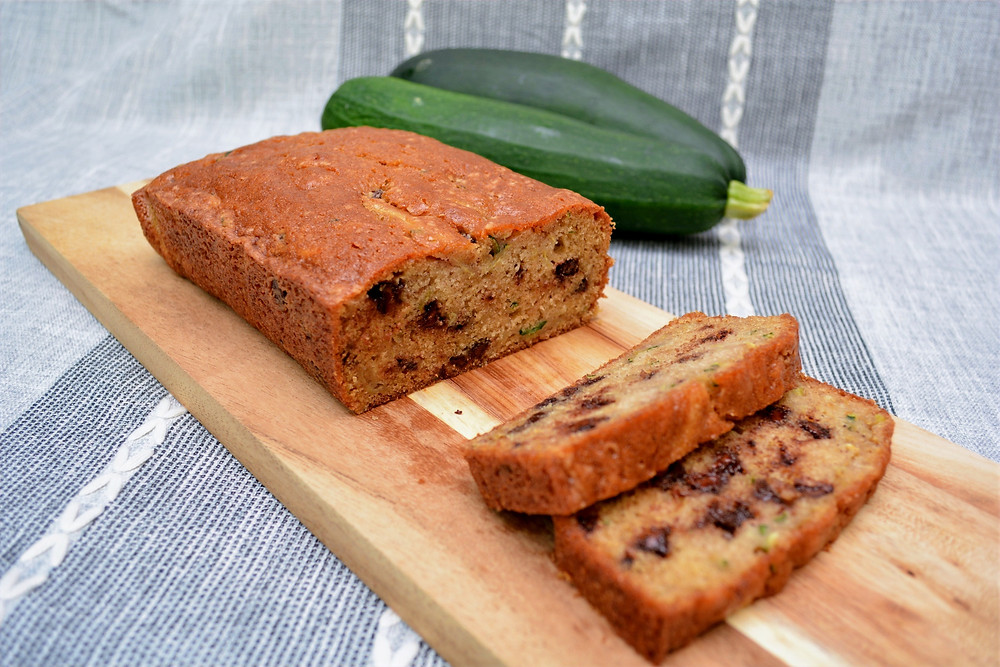Spiced Chocolate Chip Zucchini Bread