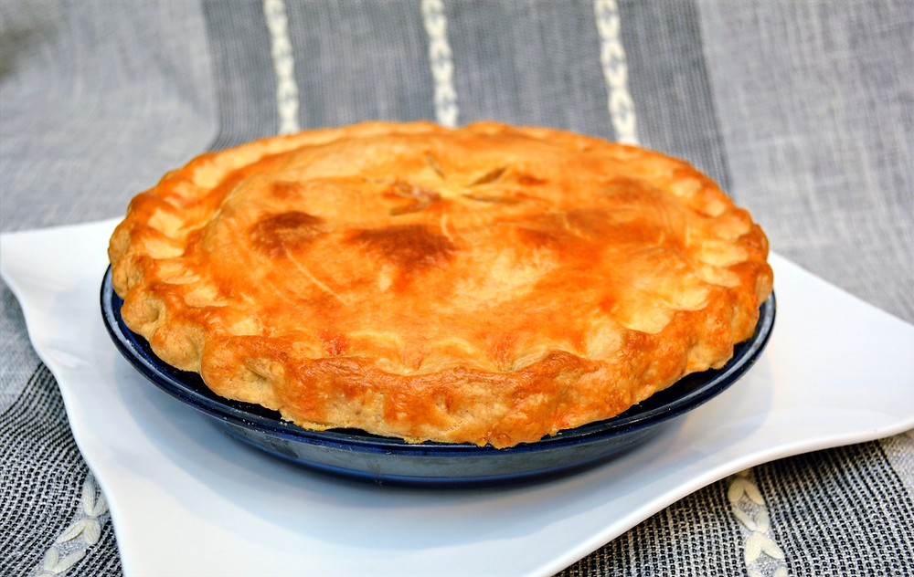 Perfect Peach Pie with Homemade Crust
