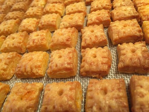 Homemade Cheez-It Crackers