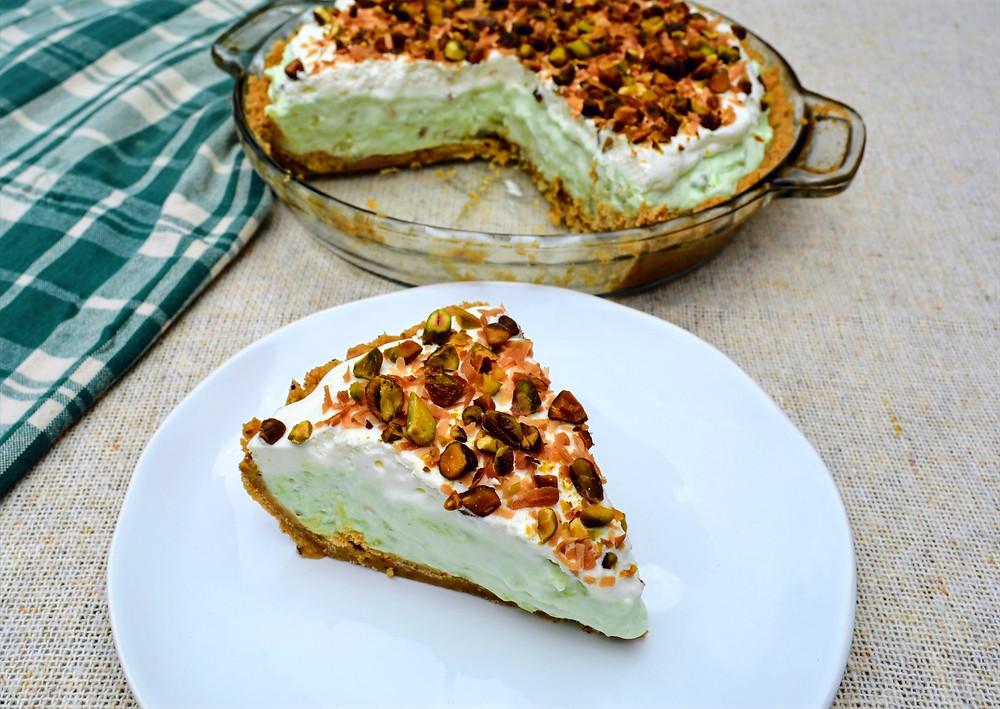 Irresistible Pistachio Cream Pie