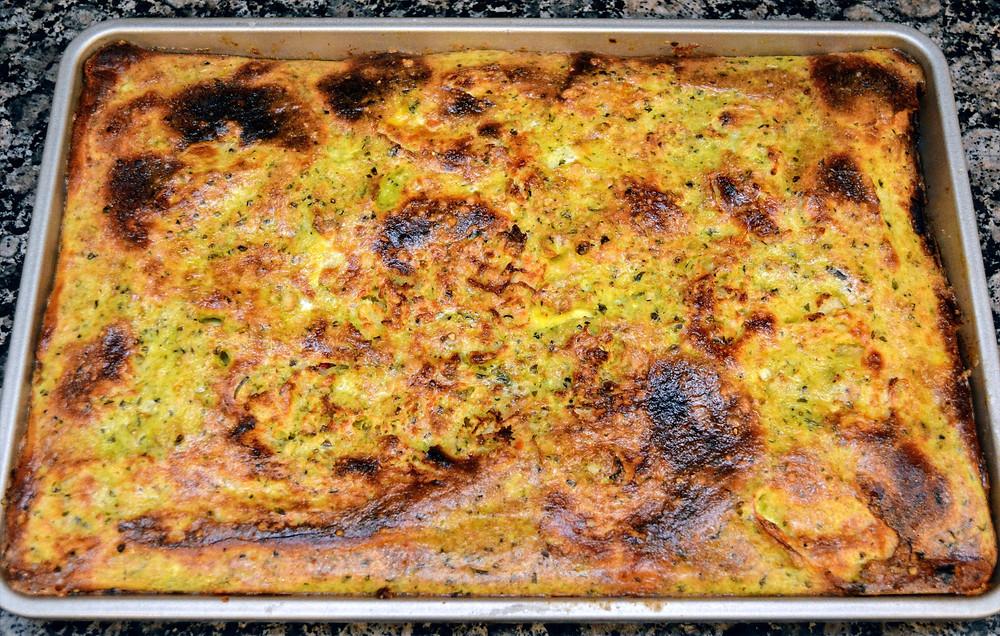 Baked Italian Antipasto Squares