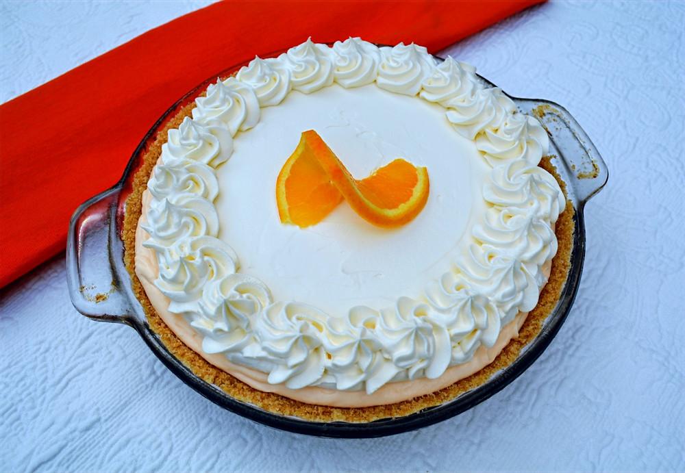 Easy Orange Creamsicle Pie