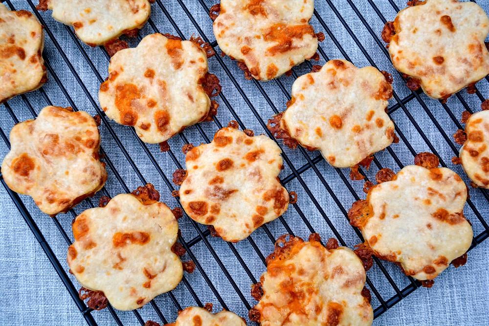 Healthy Cheddar Milk Dog Biscuits