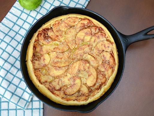 German Apple Pancake (Apfelpfannkuchen)
