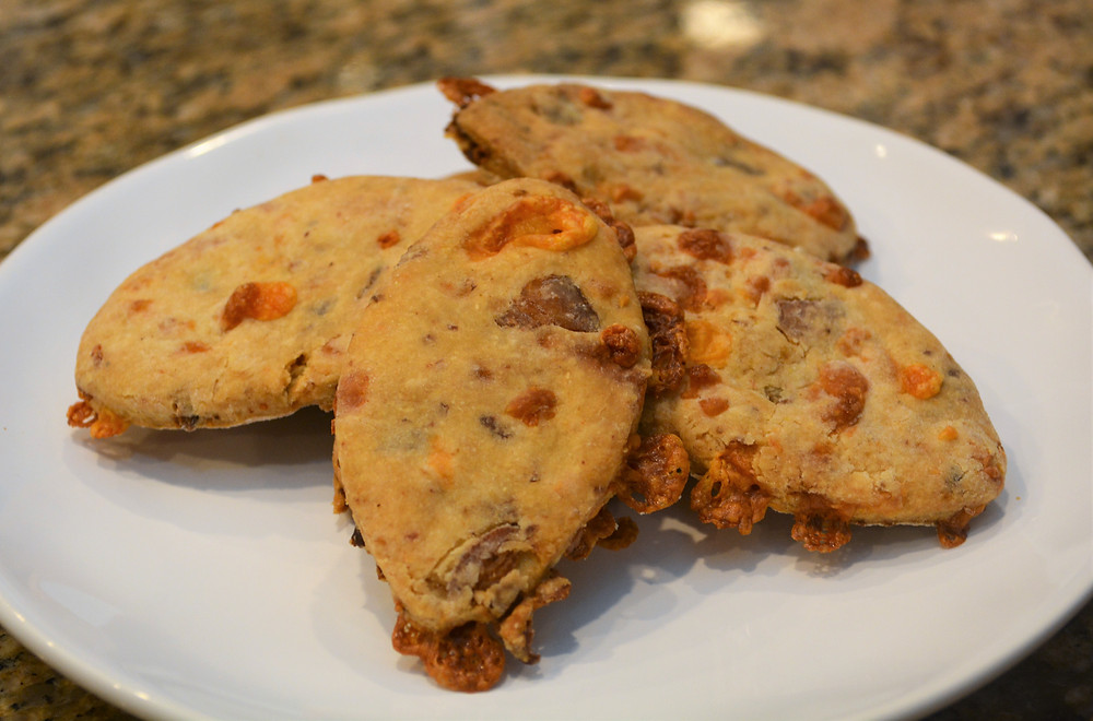 Crunchy Bacon Cheddar Dog Treats