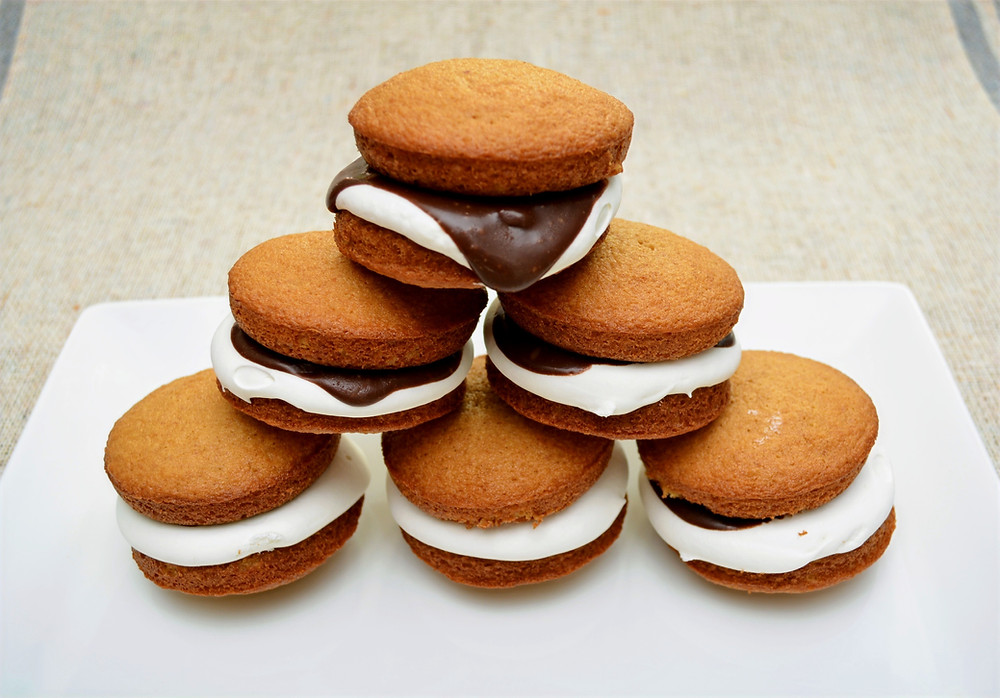 Soft S'mores Whoopie Pies