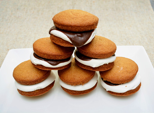 S'mores Whoopie Pies
