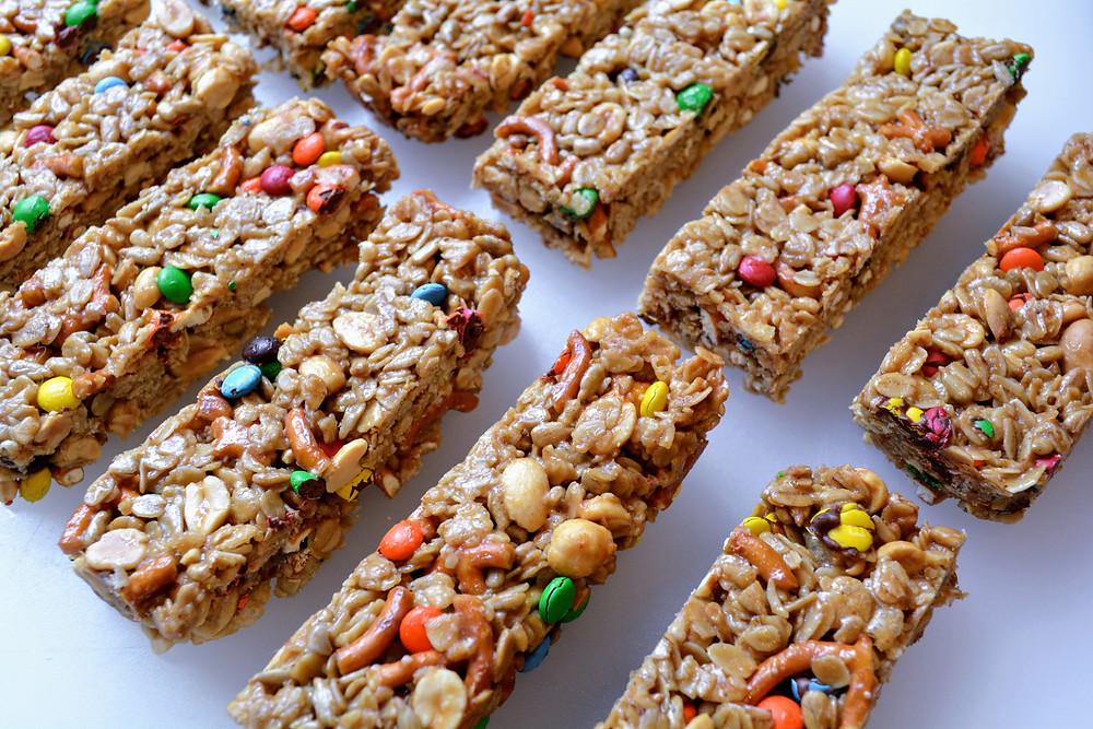 Peanut Butter Pretzel Snack Bars