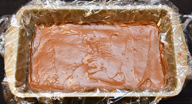Chocolate Pudding Layer of Snickers Icebox Cake