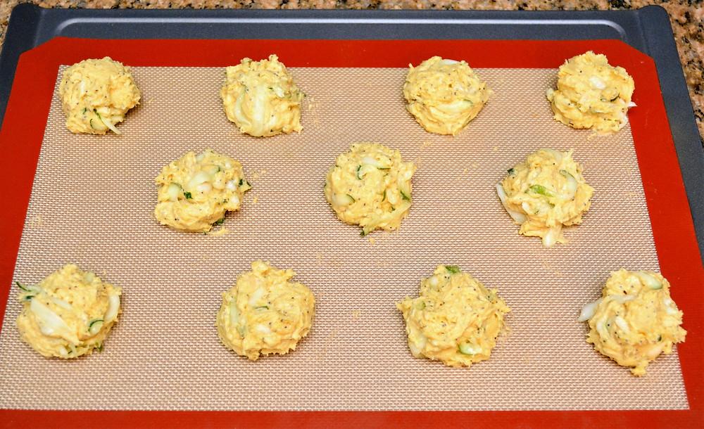 Easy Lemon Poppy Seed Zucchini Cookies