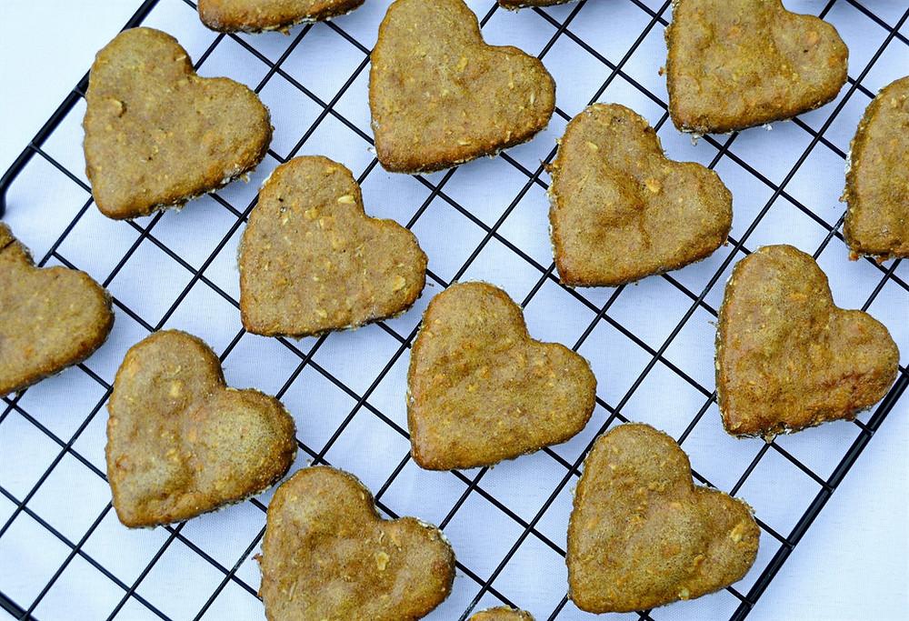 Healthy Sweet Potato Dog Biscuits