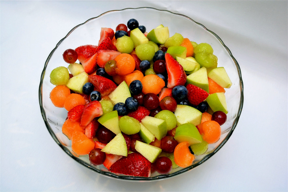 Fresh and Juicy Summer Fruit Salad with Honey Lime Dressing