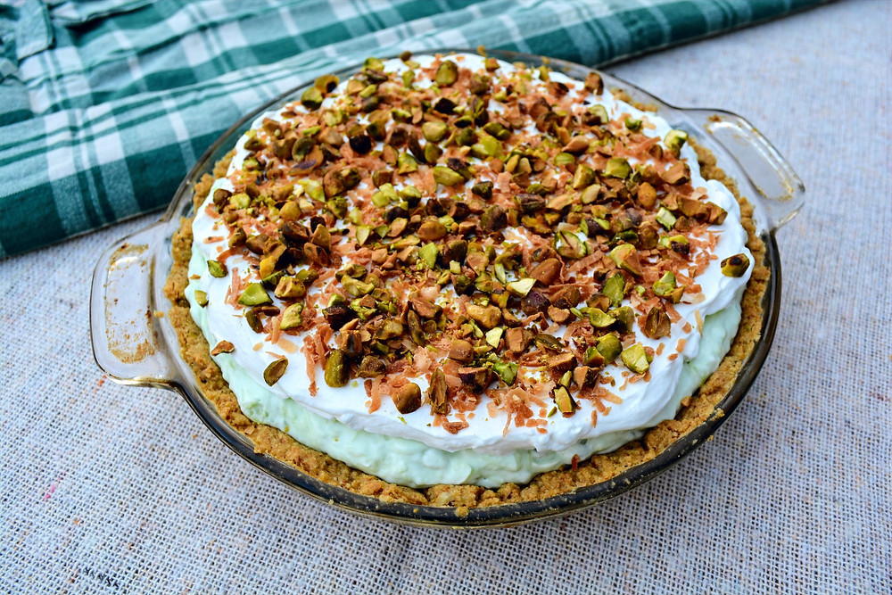 Easy Pistachio Cream Pie