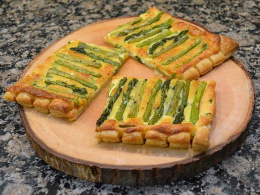 Lemon Asparagus Tart