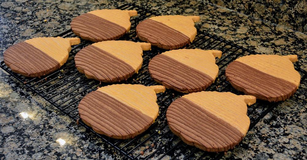 Jumbo Pumpkin Spice Chocolate Cookies