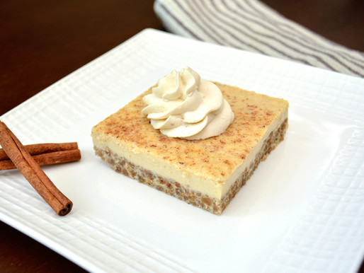 Grape-Nut Custard Pudding with Maple Whipped Cream