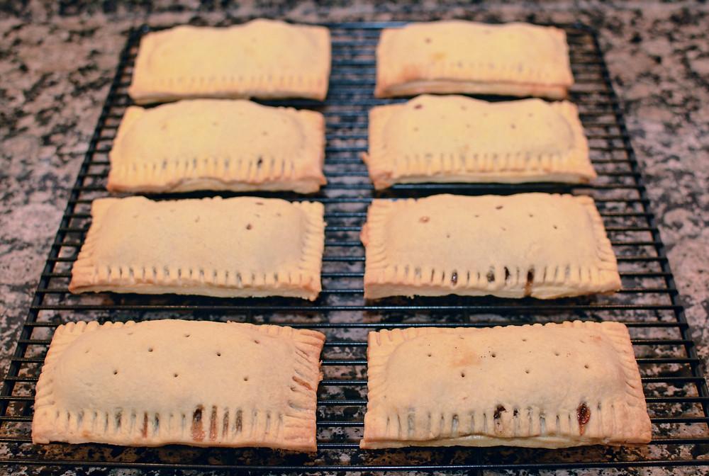 Fresh baked Apple Cinnamon Pop Tarts