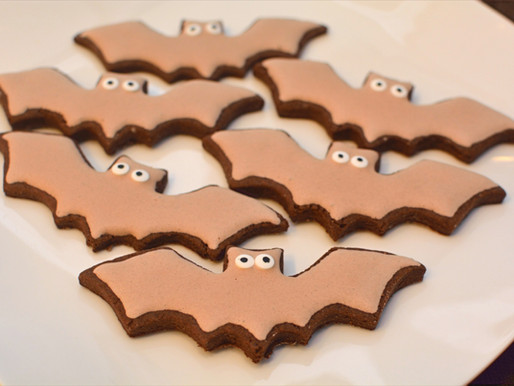 Chocolate Cut-out Cookies with Chocolate Royal Icing