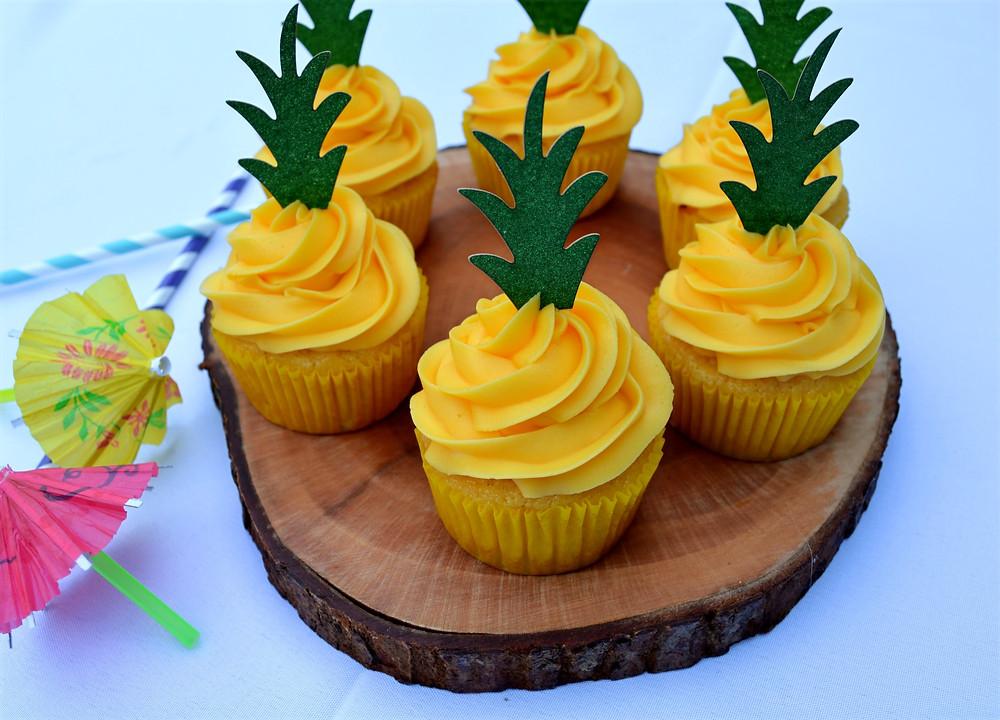 Pineapple Paradise Cupcakes