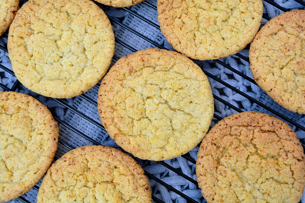 Chewy Corn Cookies