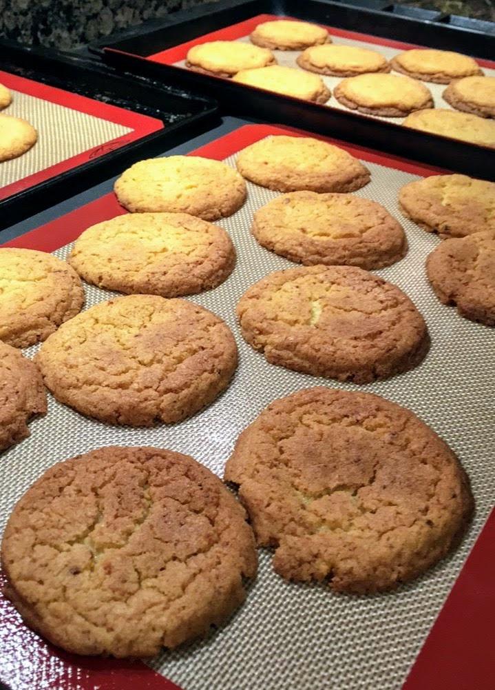 Sweet and Salty Jumbo Corn Cookies