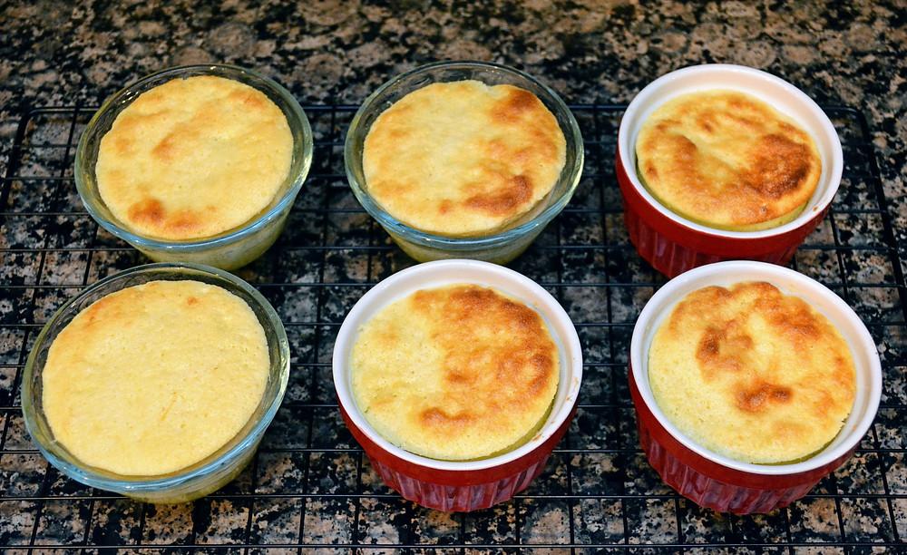 Lemon Delicious Pudding Souffle