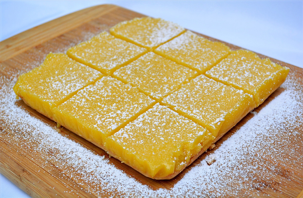The Best Luscious Lemon Bars