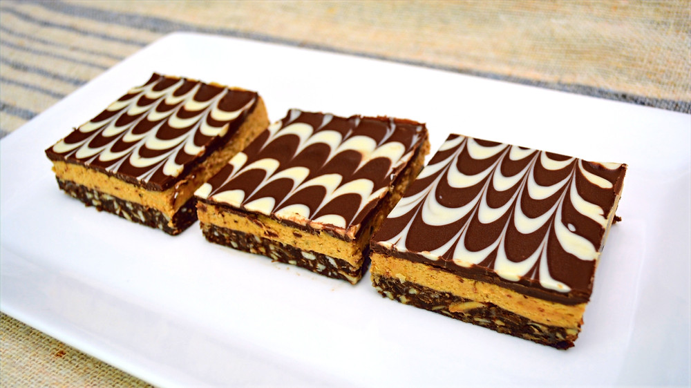 Easy, No-bake Mocha Latte Nanaimo Bars