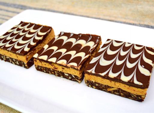 Mocha Latte Nanaimo Bars